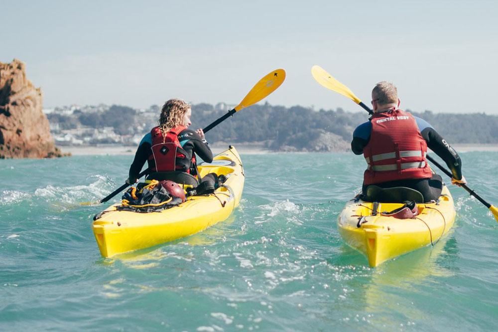 Relocate.je Jersey kayaking st breaded bay